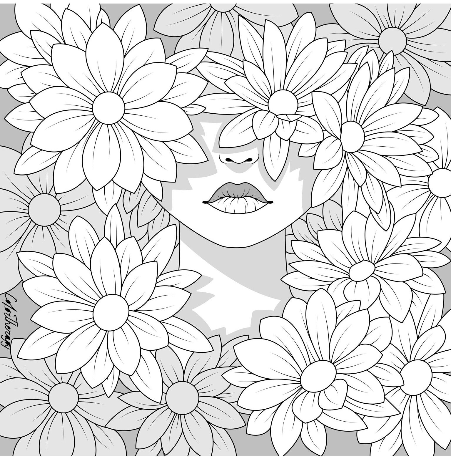 halloween therapy coloring pages - photo#29