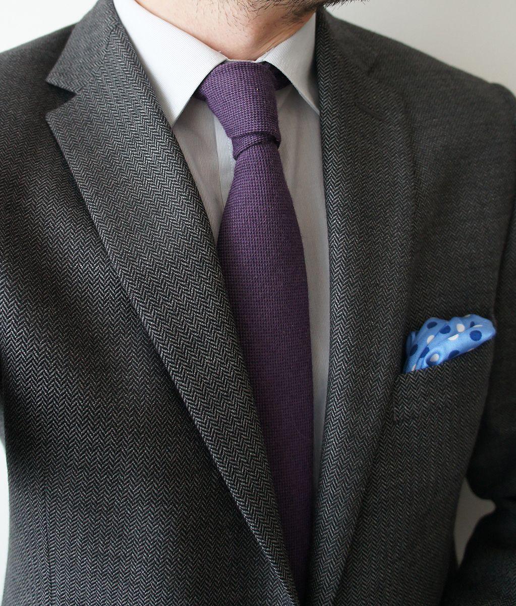 Dark grey herringbone jacket 9c994f3a04c