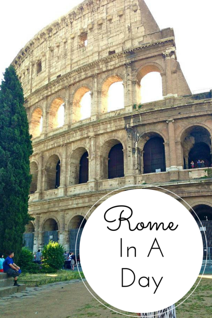 Rome In A Day - As Told By Ash and Shelbs
