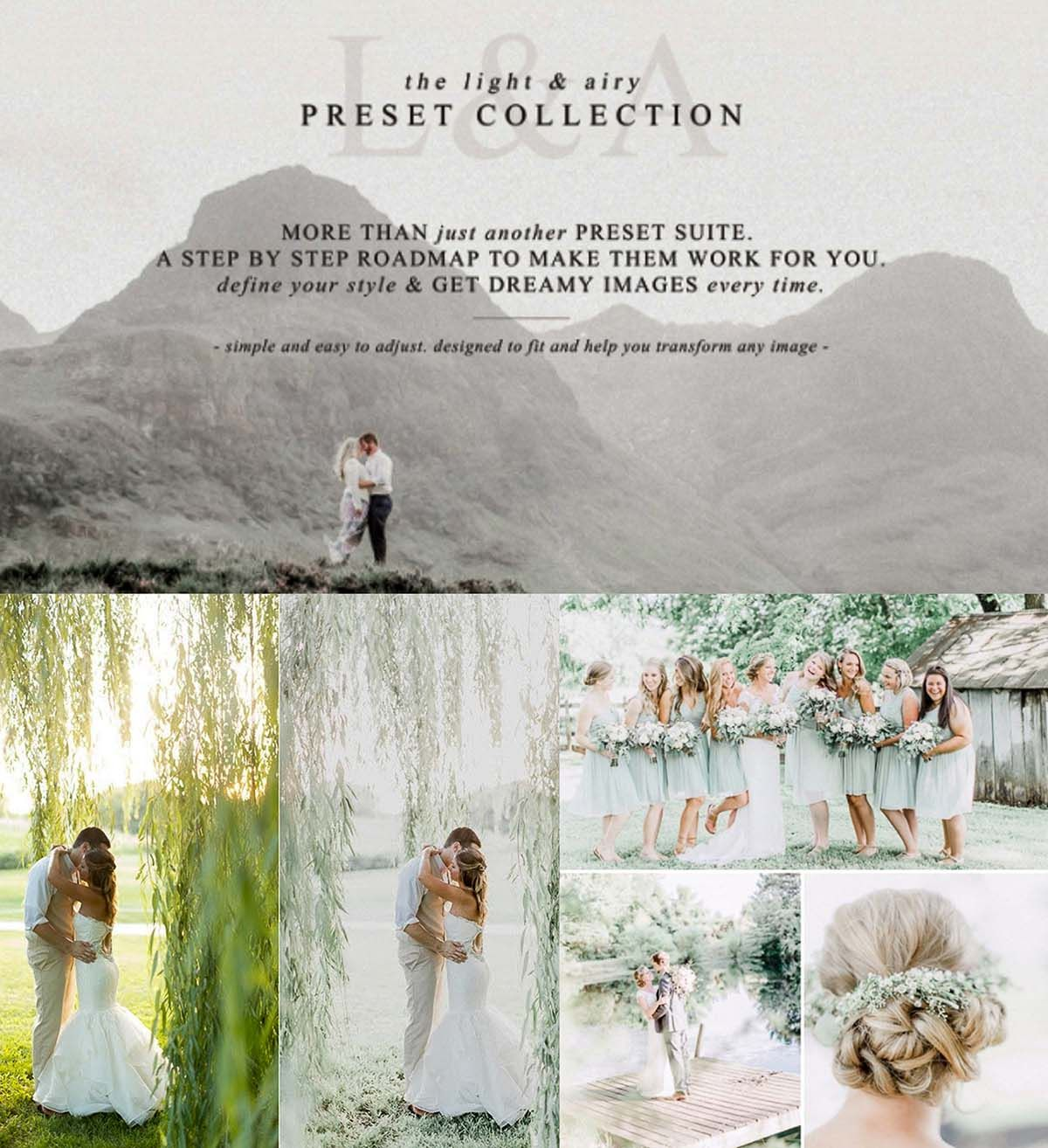 The Light Airy Lightroom Preset Collection CGIspread