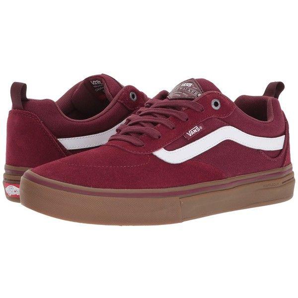 110ec0b00d Vans Kyle Walker Pro (Burgundy White Gum) Men s Skate Shoes (£53 ...