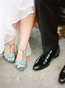 Aqua Bridal Shoes Kind Of Vintage Looking Colorful Wedding Shoes Wedding Shoe Trend Turquoise Wedding Shoes