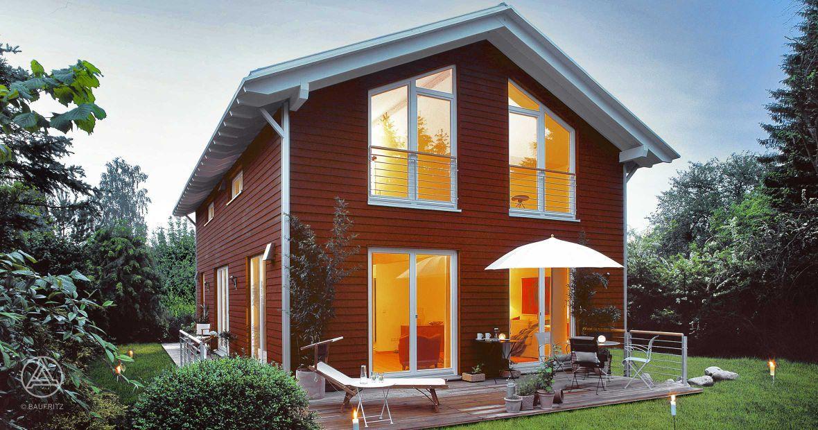 Skandinavisches haus  Best-Preis-Haus PlanMit Entwurf Skandinavisch 155 m²   Haus ...