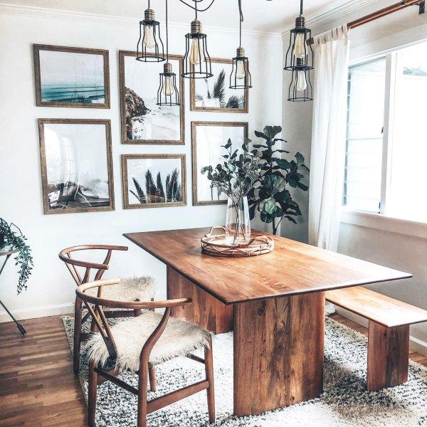 Anton Massivholz Esstisch Grau Gewaschen Wood Dining Room Table Wood Dining Room Apartment Dining Room