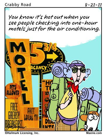Funny Air Conditioning Cartoon Maxine Hvac Humor Air Conditioning Humor