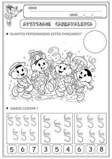 Educacao Infantil Facil Atividades Carnaval Atividades De