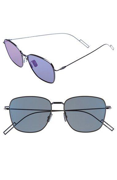 76a8276fc36 Men s Christian Dior  Composit 1.1S  54mm Metal Sunglasses - Blue  Palladium  Blue Mirror