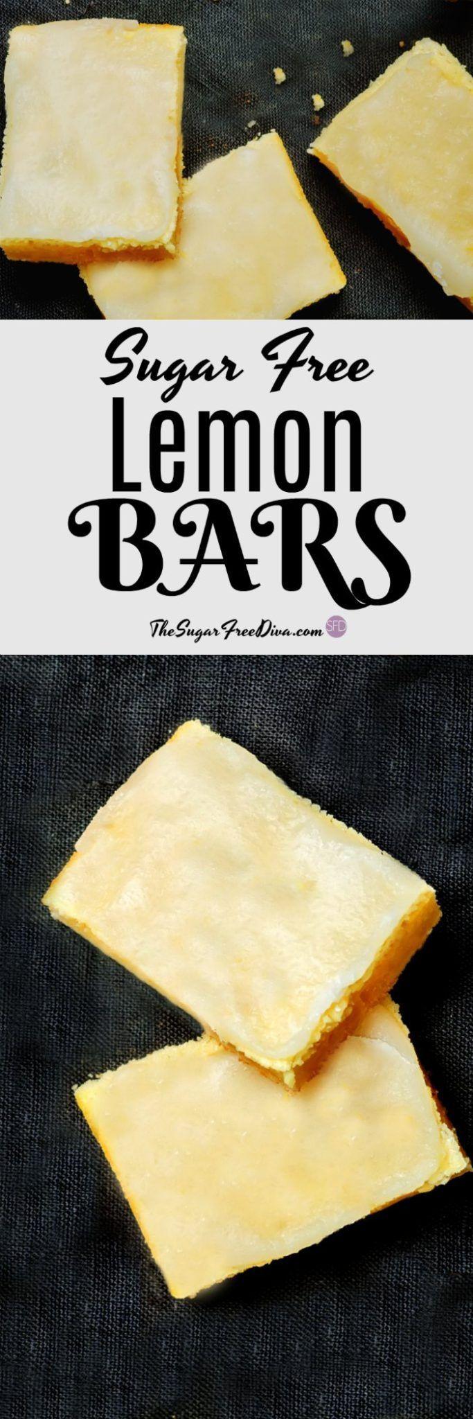 I am all over these Sugar Free Lemon Bars!! via @thesugarfreediva