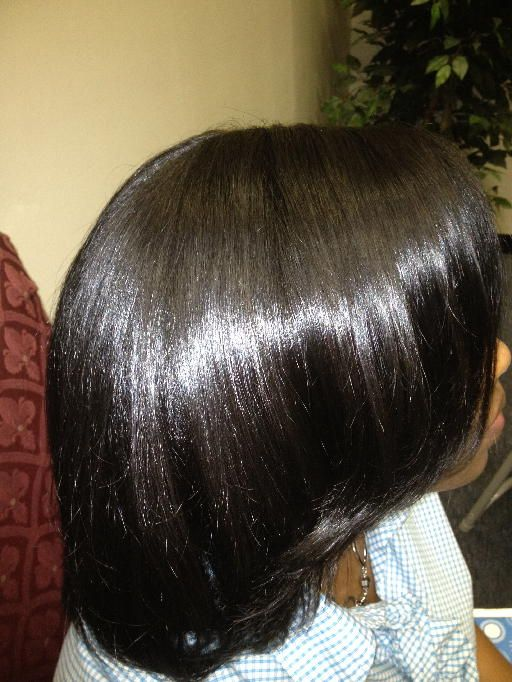 What a shine!!! Find out how you too can get the Luster back in your hair the Healthy Way.