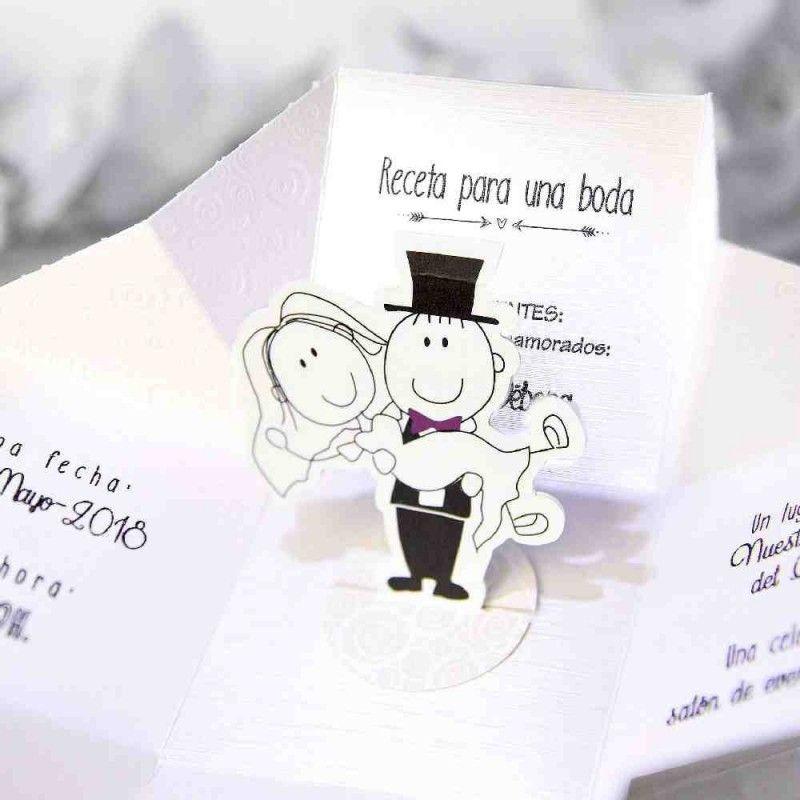 tarjetas creativas invitacion de boda