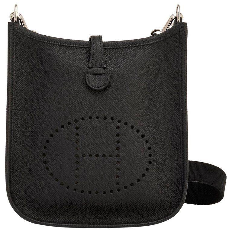 Hermes Etoupe Evelyne PM Taupe 29cm Messenger Shoulder Bag