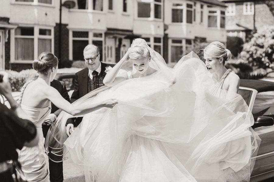 Hand draped satin and layers of tulle working in perfect harmony #weddingdress #wedding #bespoke #designerweddingdress #bridalgown #luxury #couture #british #britishweddingdressdesigner #londonbride #coutureweddingdress #englishweddingdressdesigner #silk #lace #embroidery #veil