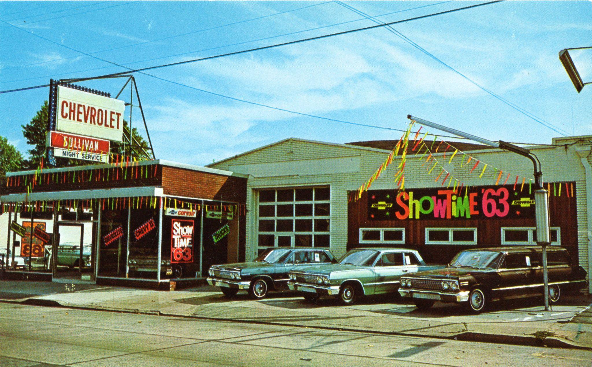 1963 Sullivan Chevrolet Dealership Roselle Park New Jersey