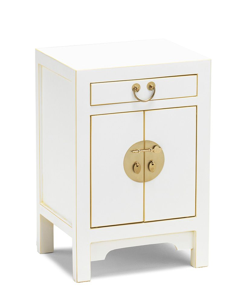 Perfect Chinese Small Bedside Cabinet With A Drawer And Two Door Cupboard Can Be Used As Or Lamp Table To Use For Drinks Books