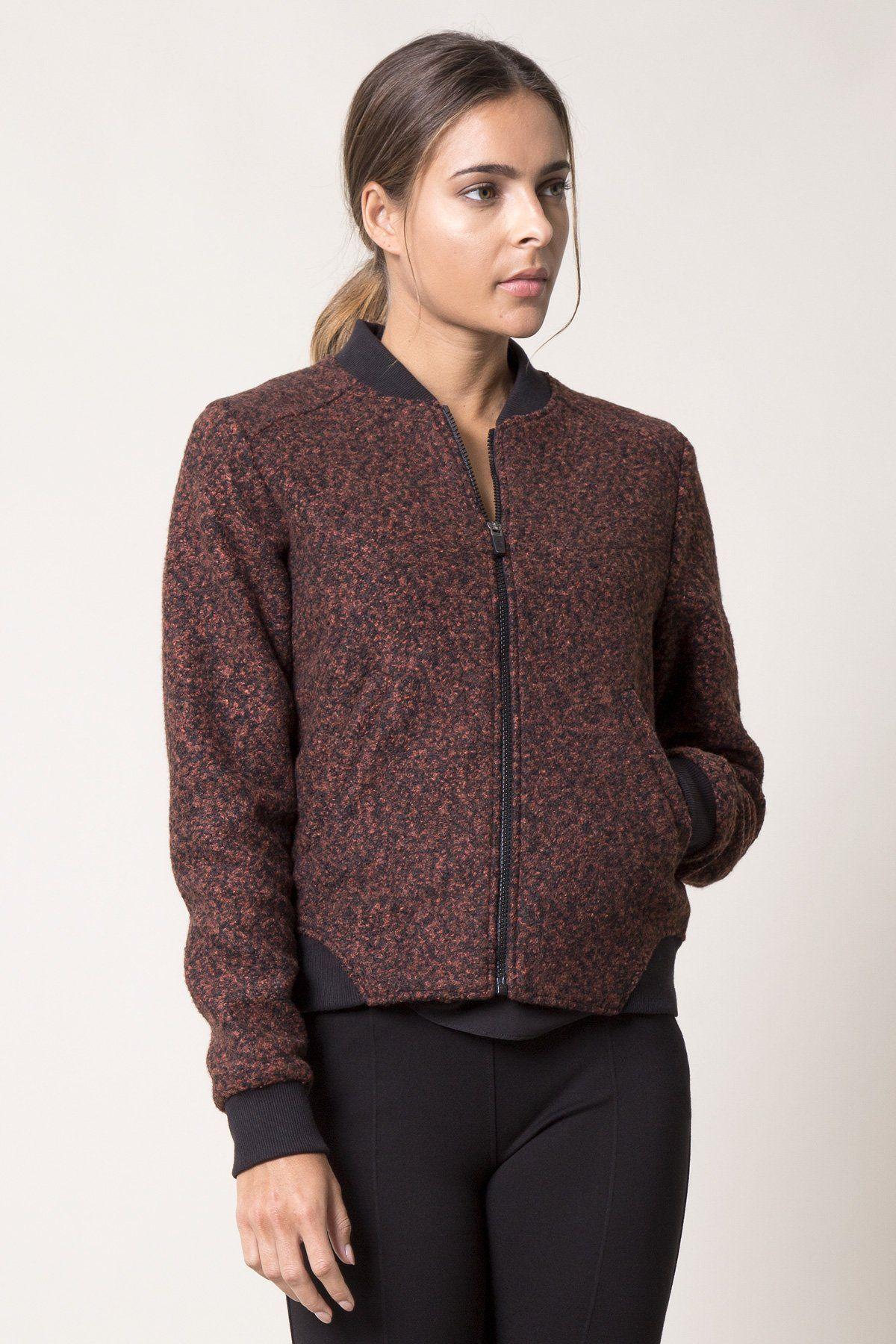 Socialite Active Tweed Bomber Tweed Socialite Fashion [ 1800 x 1200 Pixel ]