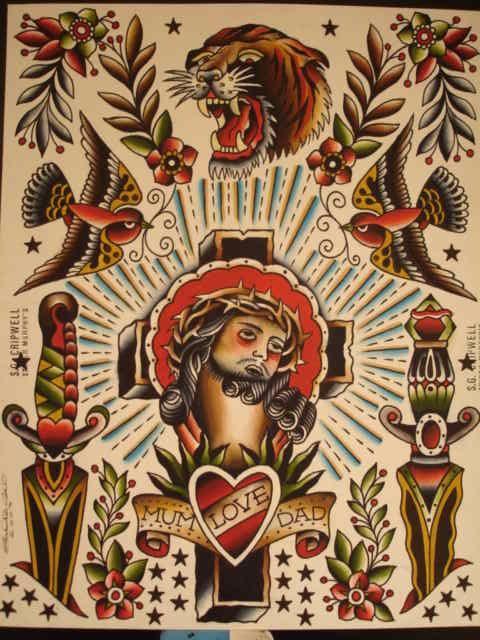 Classic Tattoo Flash Kysa Ink Design Tattoo Tattoos