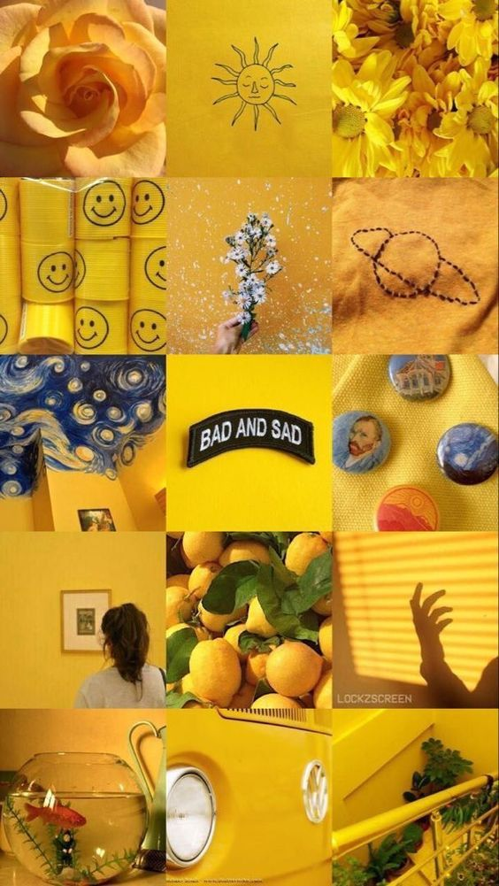 Best Free Yellow Aesthetic Wallpapers