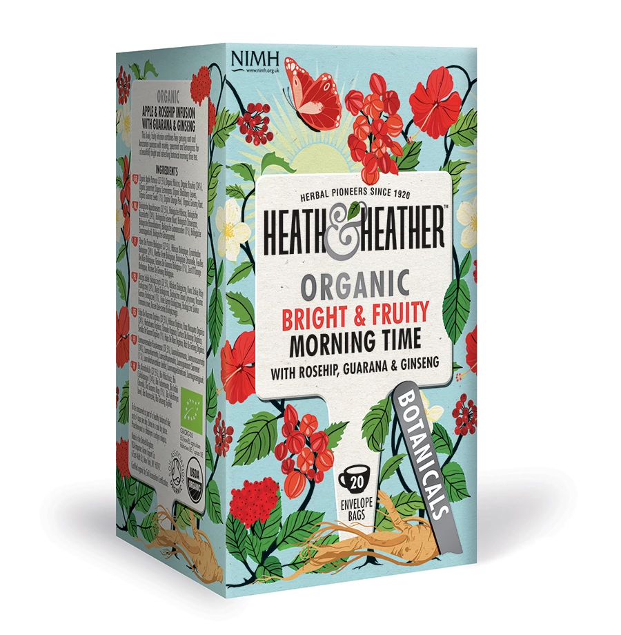 Heath Heather Teas Heath Heather Organic Morning Time 20 Bag How To Make Tea Tea Brands Organic Orange Peel