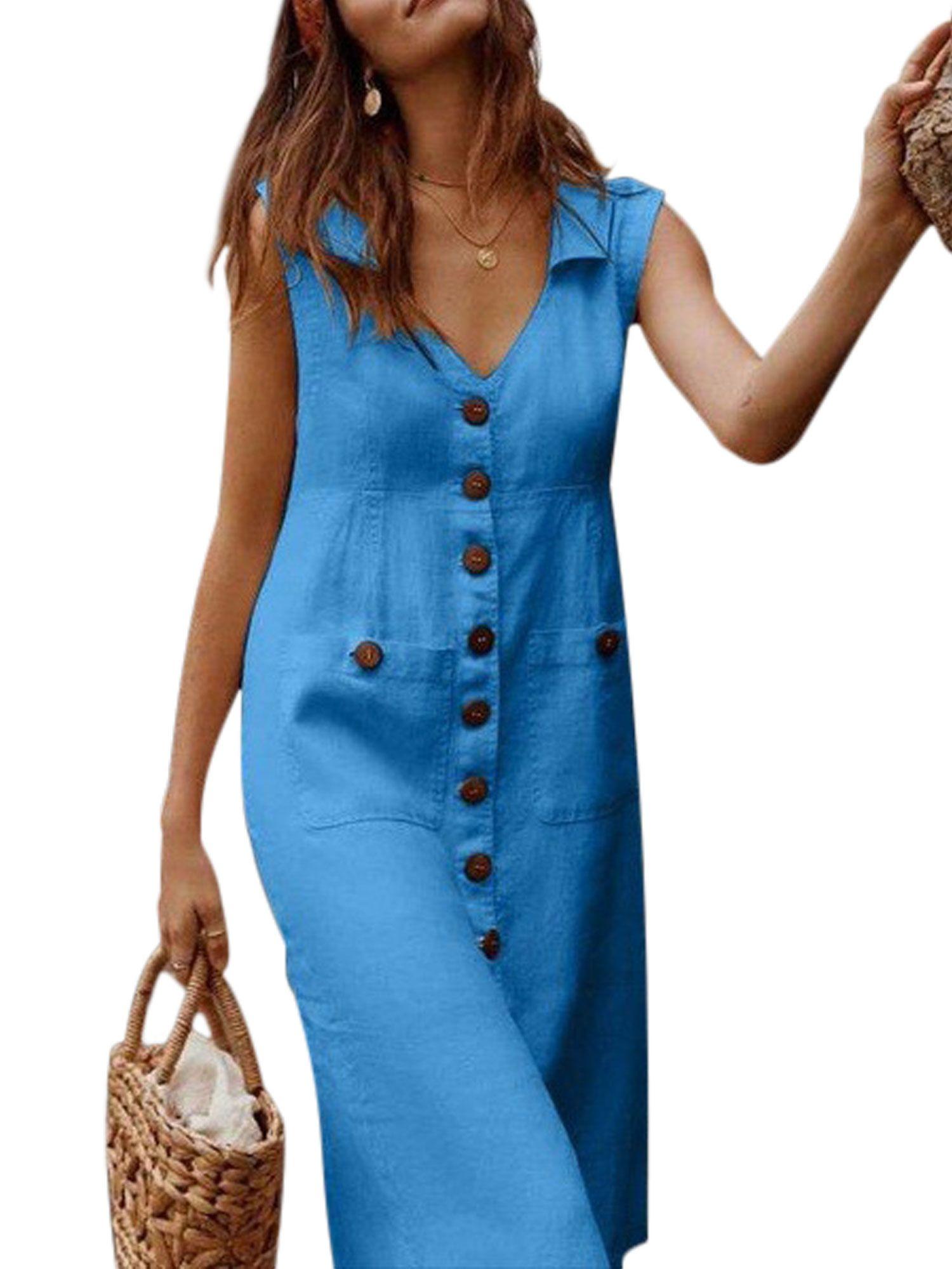 Pinterest In 2021 Dress Shirts For Women Sleeveless Dress Summer Women Dresses Casual Summer [ 2000 x 1500 Pixel ]