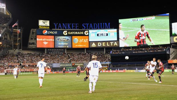 Real Madrid vs AC Milan at Yankee Stadium