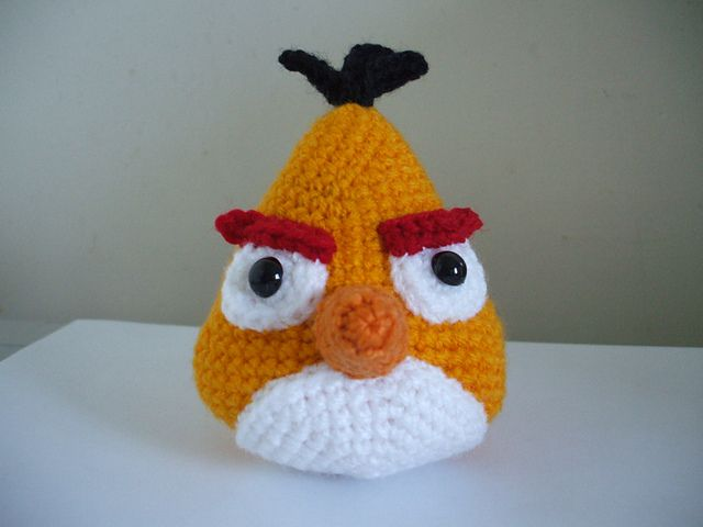 Ravelry: Angry Birds - Yellow Bird pattern by Adorable Amigurumi ...