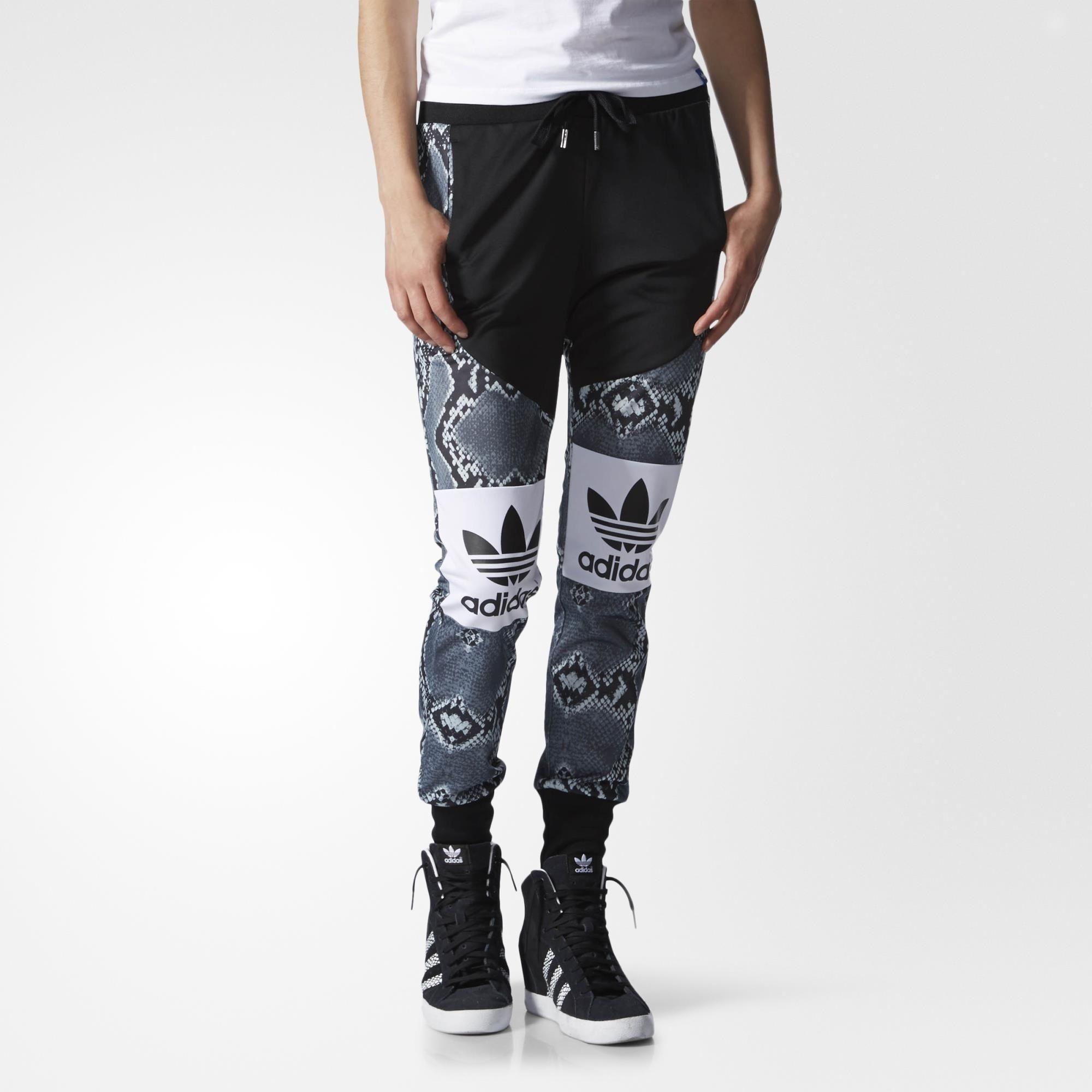 adidas LA Trefoil Print Mix Track Pants - Multicolor | adidas US