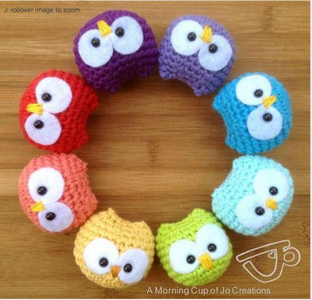 Crochet Baby Owls Pattern Free Video Tutorial Great ideas | Häkelnde ...