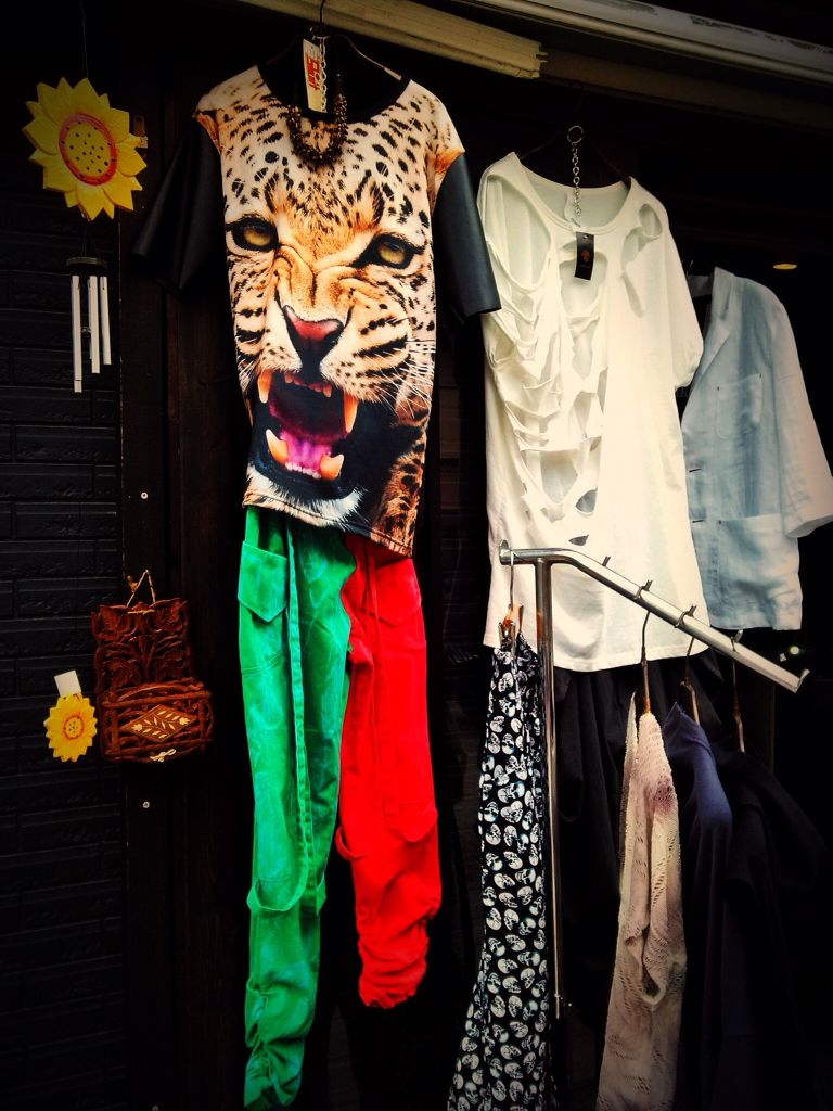 Japanese random fashion. What you can find over Tokyo streets.