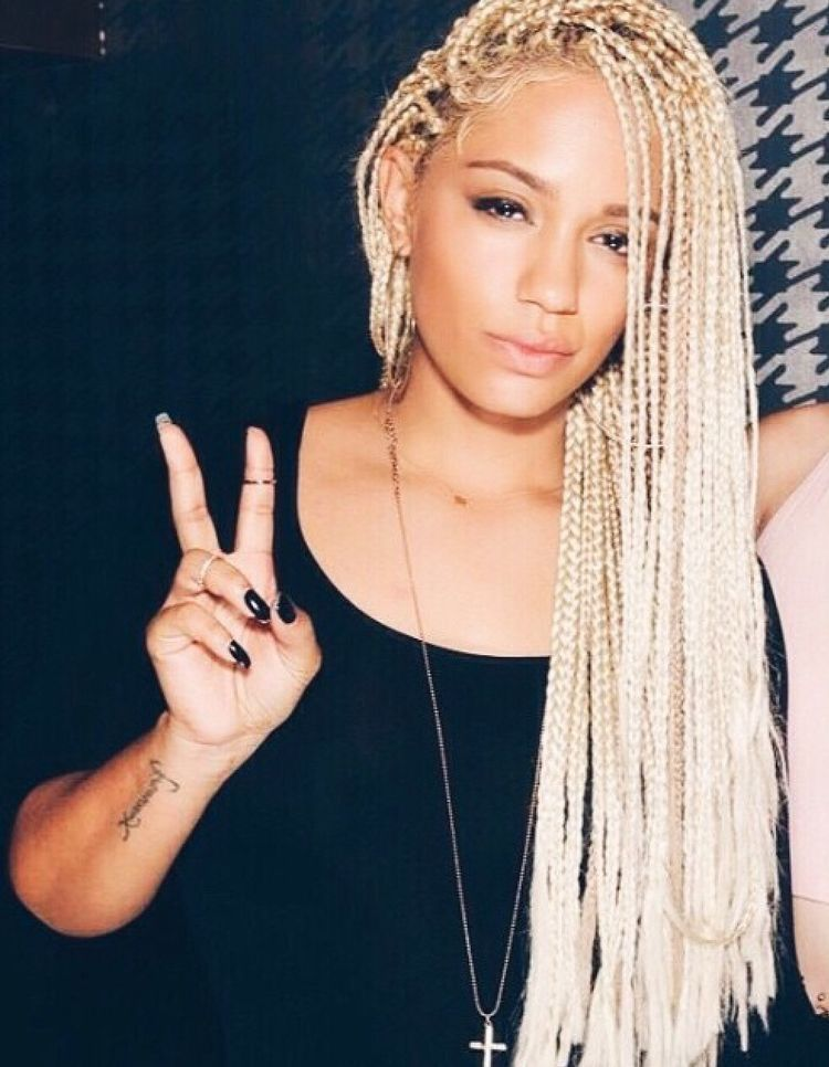 try blonde braids on for size! | Natural Hair Style Braids ...