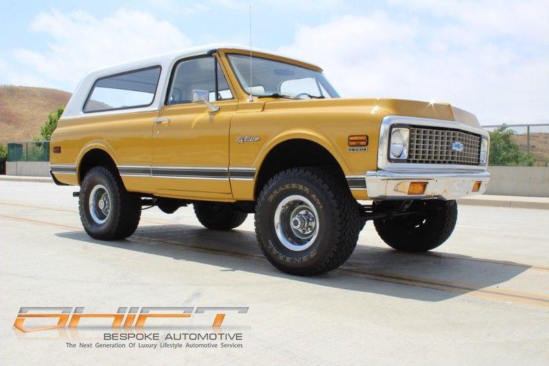 1972 Chevrolet Blazer In Laguna Hills California Chevy Blazer K5 Chevrolet Blazer Classic Chevy Trucks