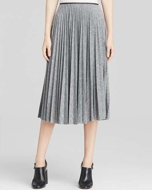 4f3c23769 Theory | Skirt - Zeyn Pleated Jersey #theory #pleated #skirt ...