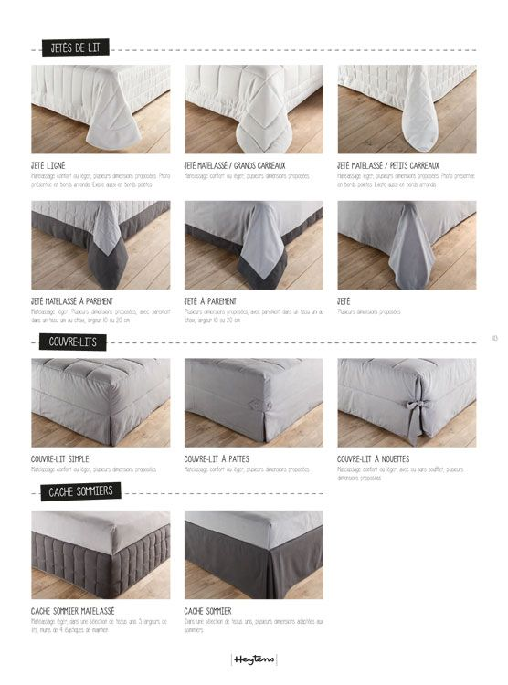 voir modele couvre lit heytens Résultat de recherche d'images pour