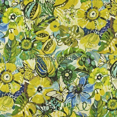 Tropical Garden Mojito gordijnstoffen 8569-391, Mardi Gras van Prestigious Textiles
