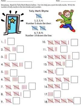 78 Best images about Tally Marks and Place Value on Pinterest ...