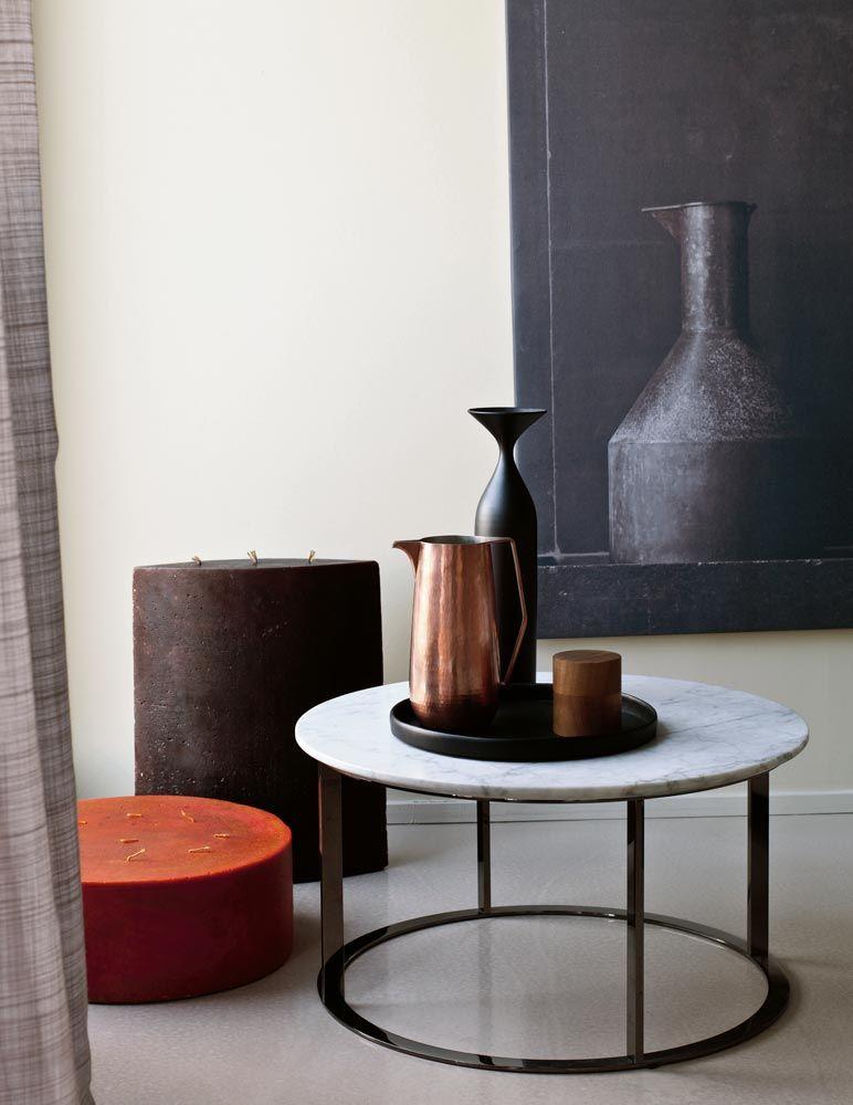Small Table Mera Collection B B Italia Design Antonio Citterio Marble Coffee