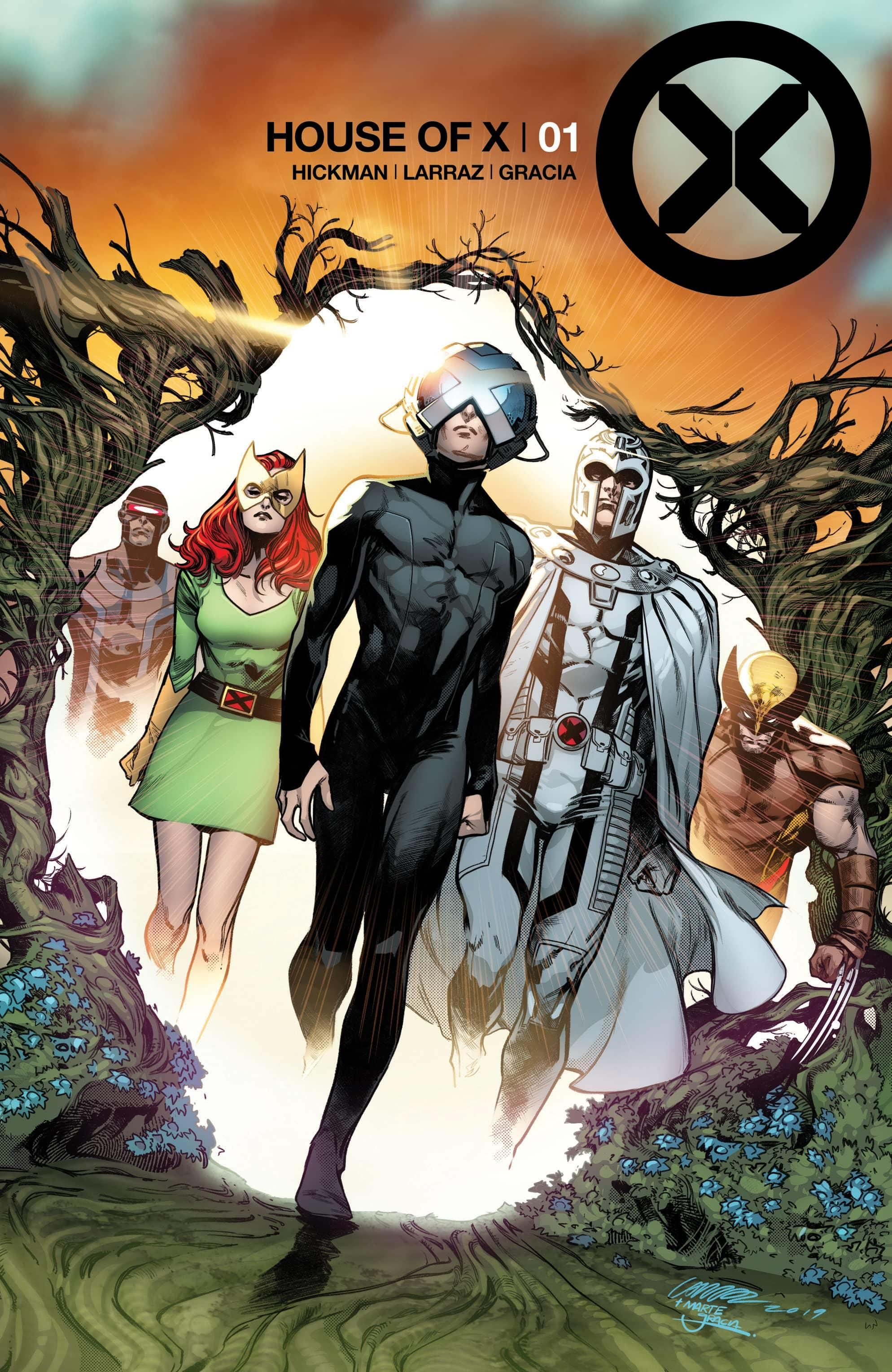 Marvel Reveals Covers For House Of X 1 And Powers Of X 1 Comics Marvel Comics X Men