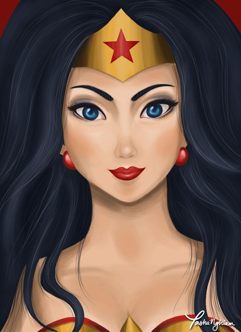 Wonder Woman by ~hwippedcream