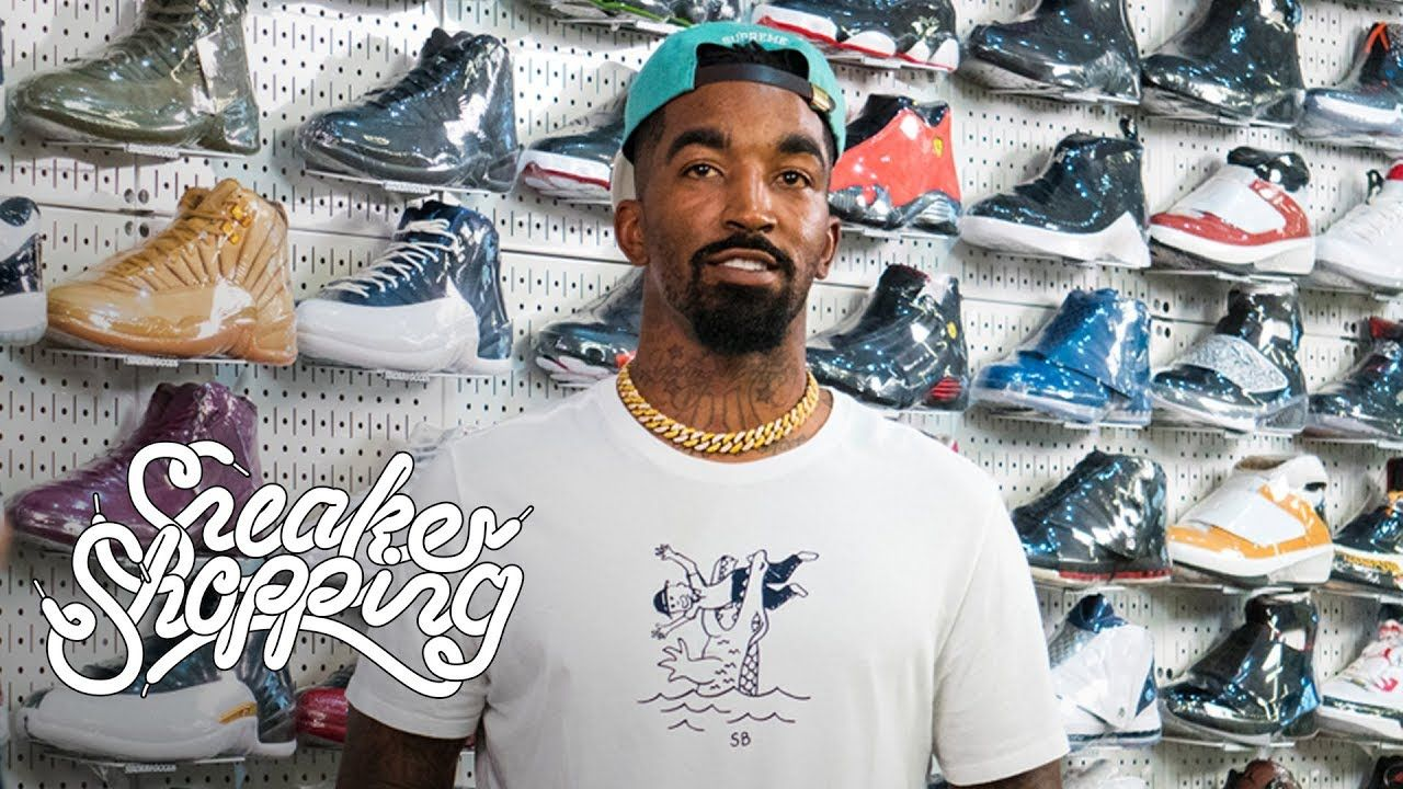 JR Smith Goes Sneaker Shopping With