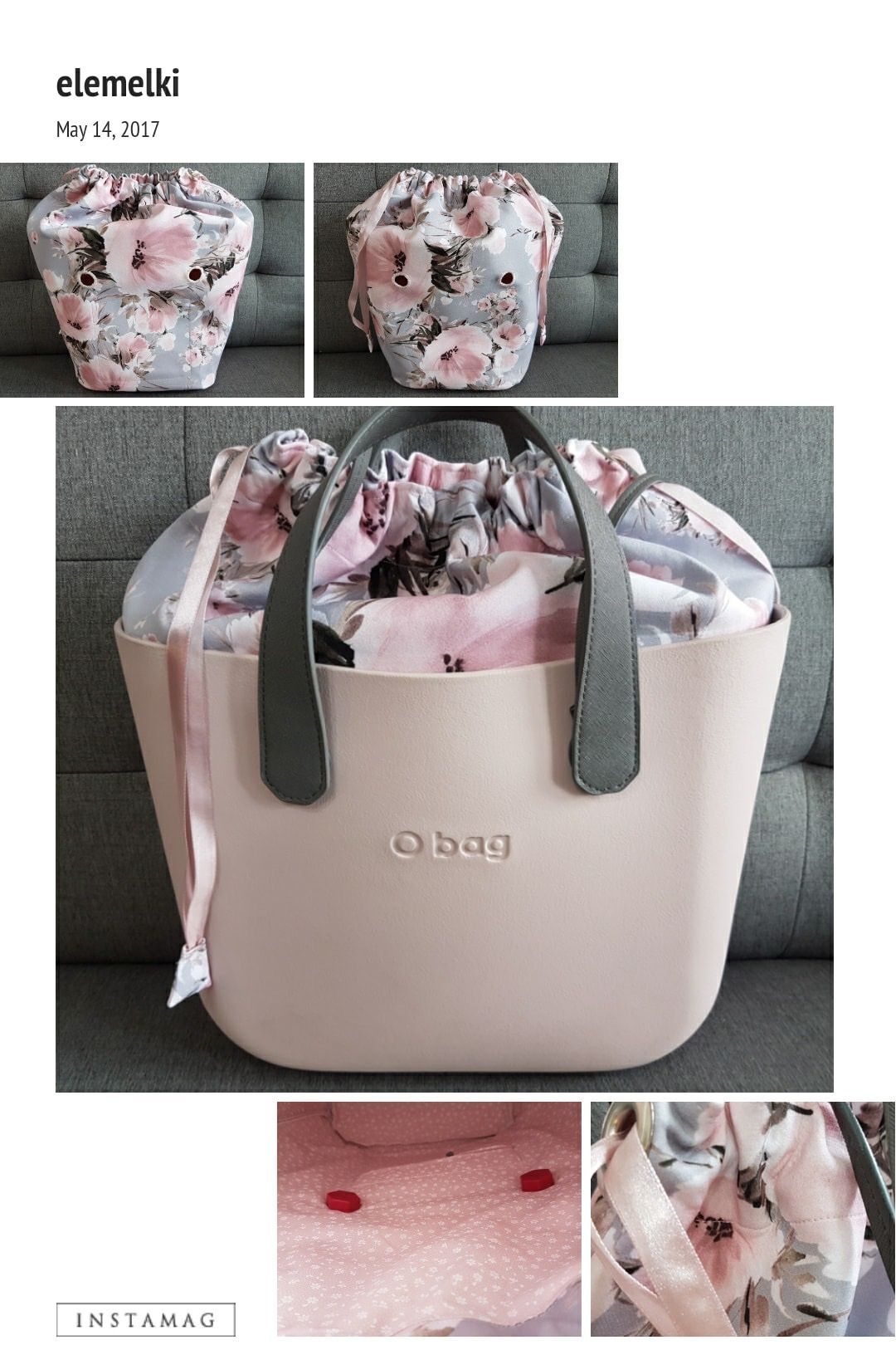 Obag pink smoke   Coucou Sac   Pinterest   Bags, O bag and Purses 33a5c640fc