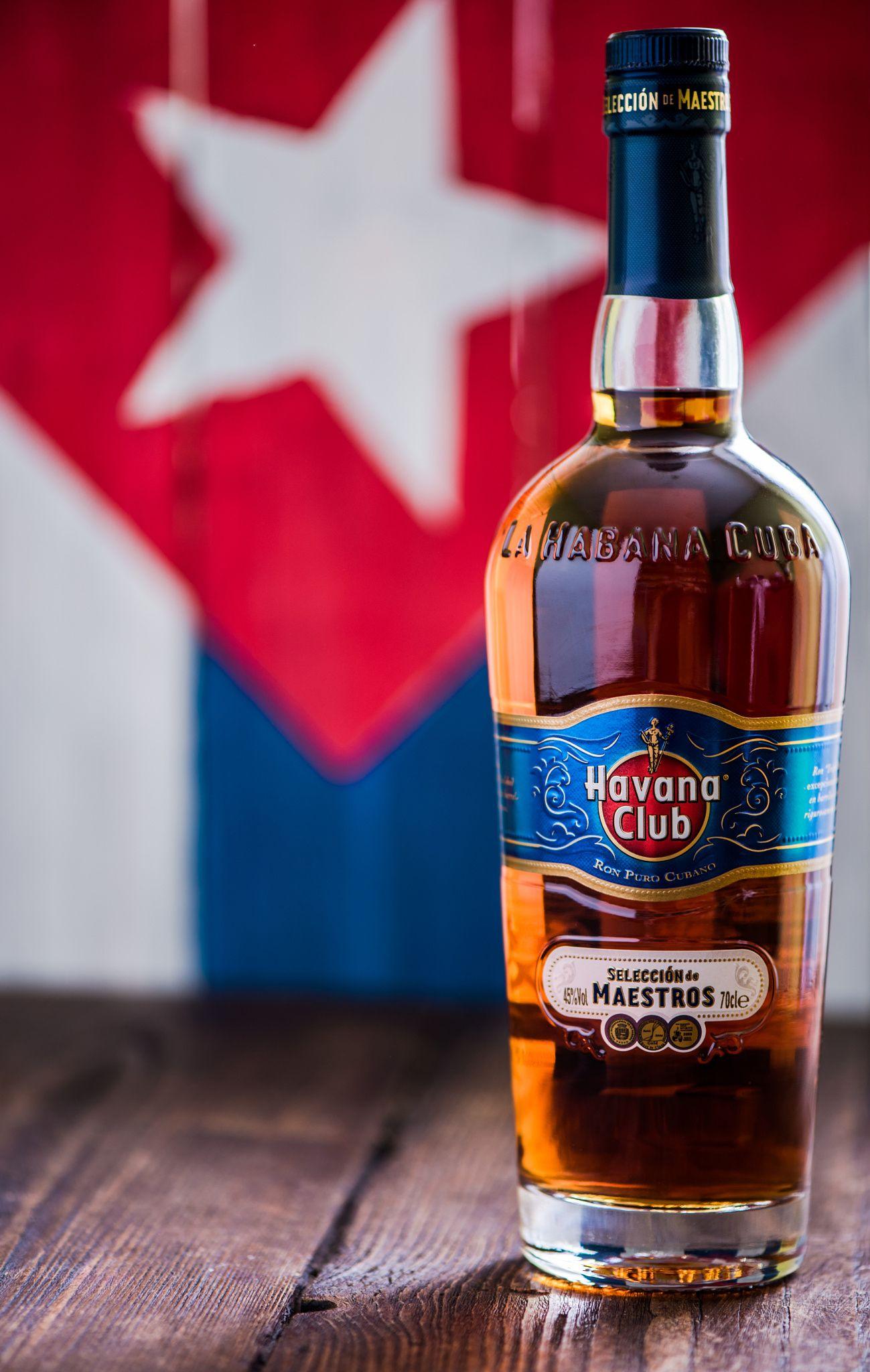 Bottle Of Havana Club Rum Havana Club Rum Havana Club Rum