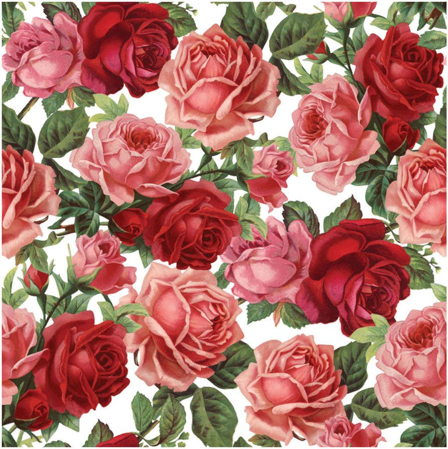 Seamless Flower Print 9 by DonCabanza Impresiones de