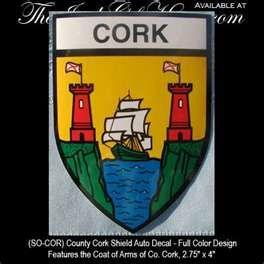 County Cork Ireland Coat of Arms