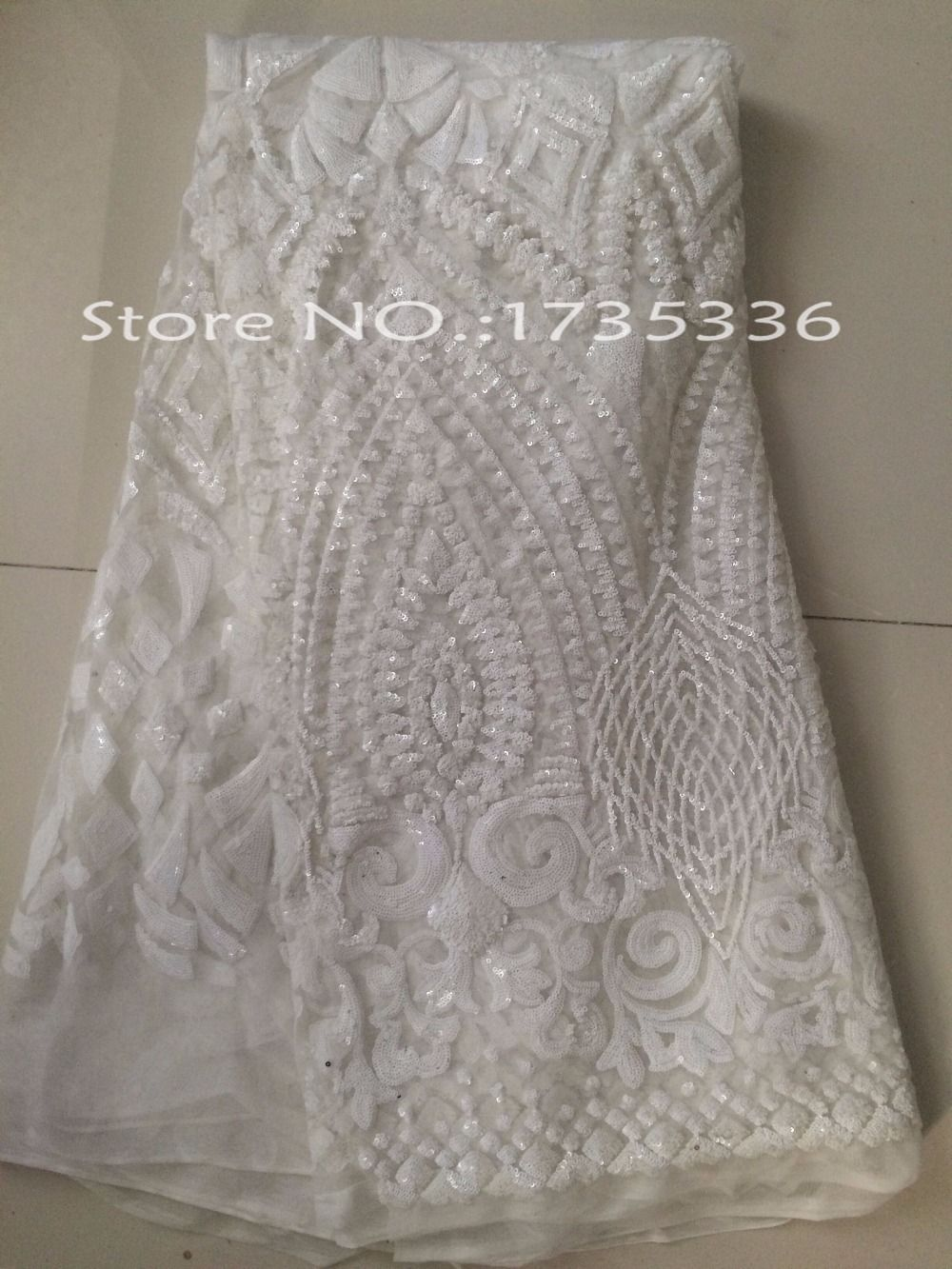 Free shipping african guipure lace fabric L873 water soluble ...