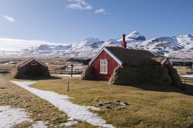 Дом курортника в Исландии