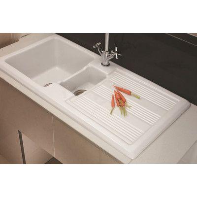 Gourmet 101 X 51cm Rectangular Kitchen Sink Wayfair Uk Sink Kitchen Sink Inset Sink