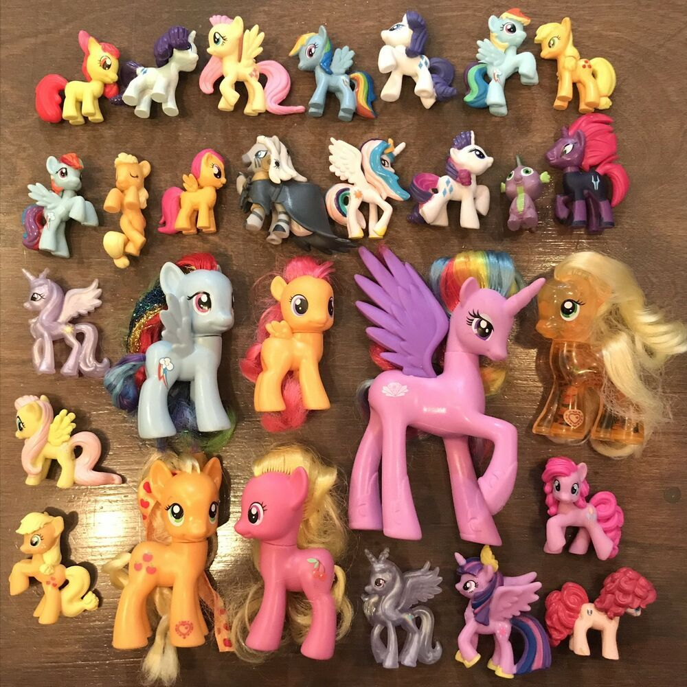 My Little Pony G4 Mlp Fim Brushable Lot Mini Blind Bag Lot Ebay My Little Pony Blind Bags Mini Blinds