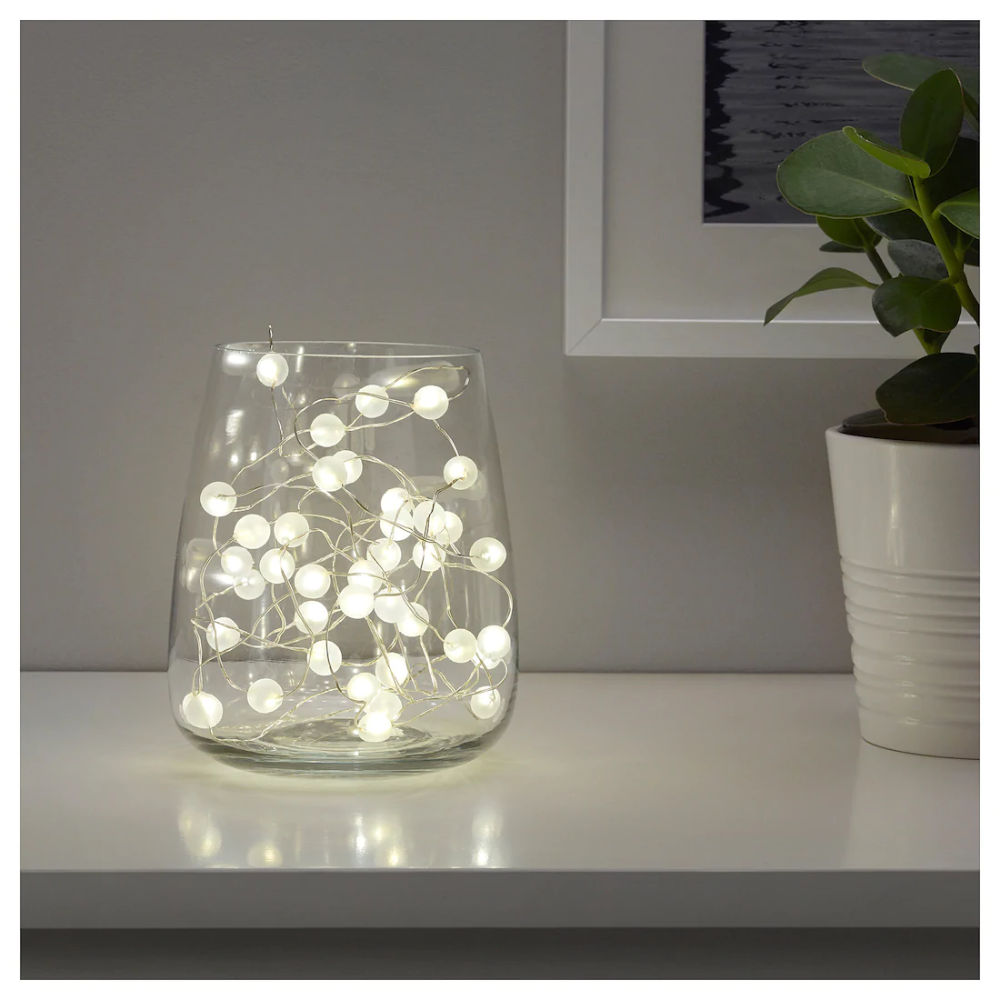 Solcelledrevet LED kubbelys Stemningsbelysning |