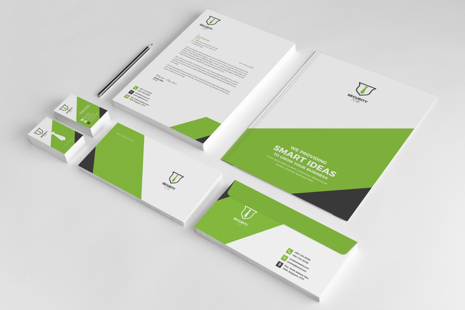 Security Company Creative Corporate Identity Template 001822 Template Catalog Corporate Identity Brand Guidelines Design Graphic Design Inspiration Branding