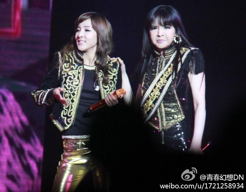 Dara with mad Park Bom ^^