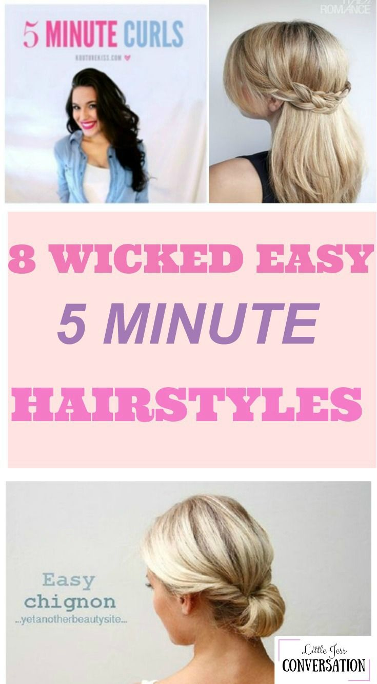 wicked easy minute hairstyles wicked easy hairstyles and easy
